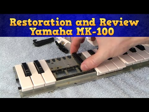 Restoring and review of the 1983 Yamaha MK-100