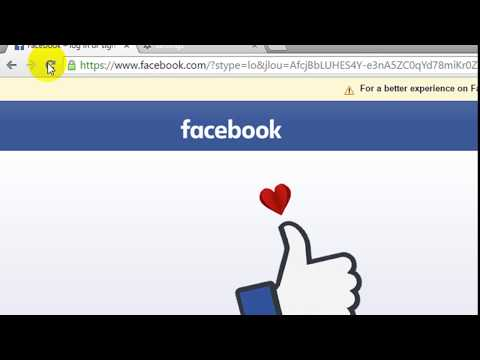 How to remove saved email address login form on facebook