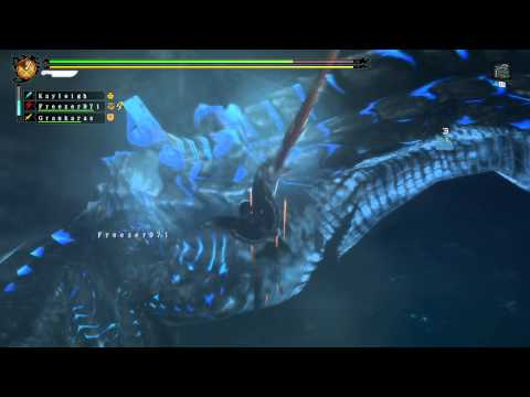Monster Hunter 3 Ultimate - Abyssal Lagiacrus