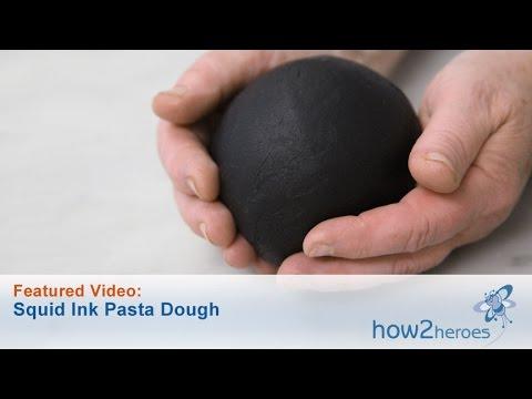 Squid Ink Pasta Dough