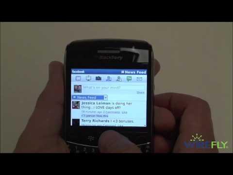 Facebook app for BlackBerry