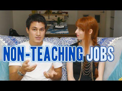 Finding non-English teaching jobs in Japan 外国人の職探し (インタビュー)