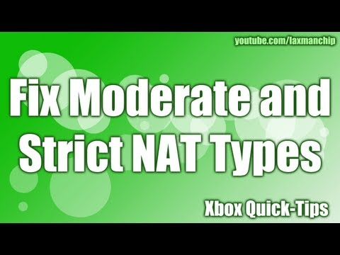 Xbox 360 Port Forwarding - Fix NAT Issue