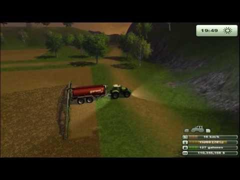 Farming Simulator 2013 |  Liquid manure spreading