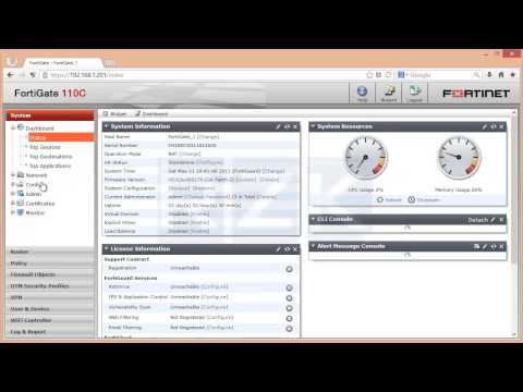 FortiGate (Client-to-Site IPSec VPN) (v5.0.2)