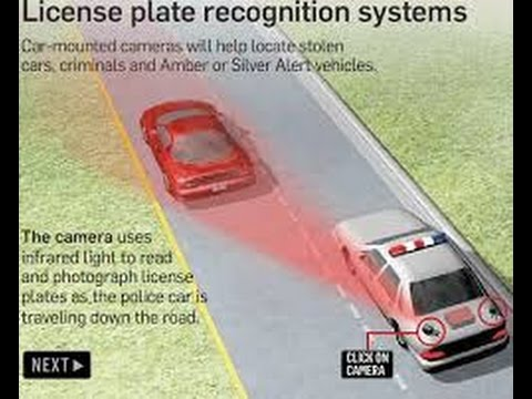 CAR LICENSE PLATE READERS
