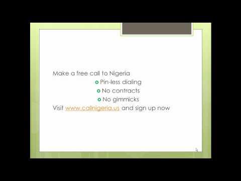Call Nigeria