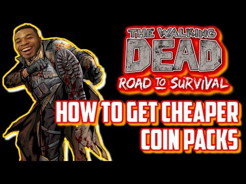 Walking Dead Road to Survival  - How to Buy Cheap Coin Packs Using Amazon
