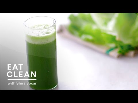 Cleansing Pineapple-Spinach Juice - Eat Clean with Shira Bocar