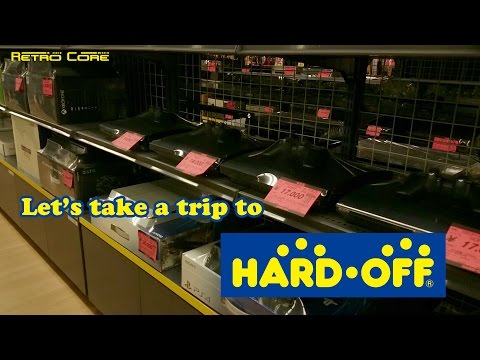 Trip to Hard Off - Japanese game recycle store