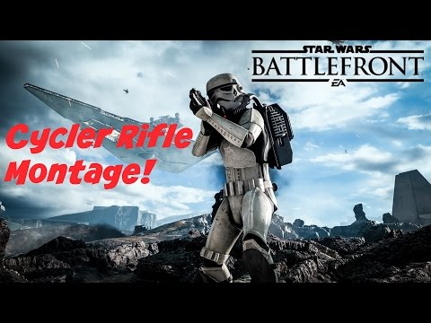Cycler Rifle Montage! - Battlefront