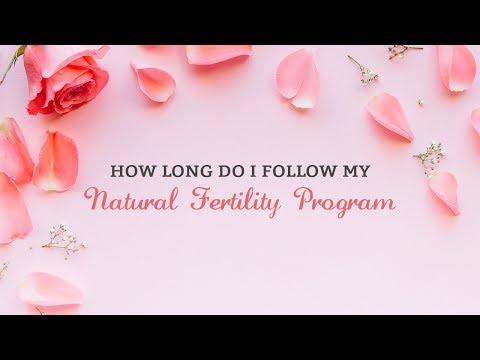 How Long Do I Follow My Natural Fertility Program
