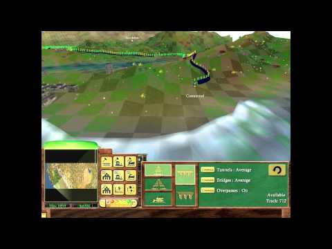 Railroad Tycoon 3 | Central Pacific | Video 1/2 | Hard Mode | Gold | Let's Play