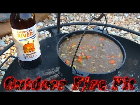 Camp Chef Dutch oven Beef Stew with Vegetables