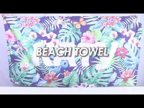 Beach towel - Design Your Own