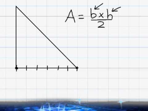 Area - Area Of A Triangle