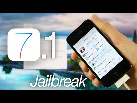 NEW Jailbreak 7.1 iOS Tethered iPhone 4,GeekSn0w Windows & Cydia