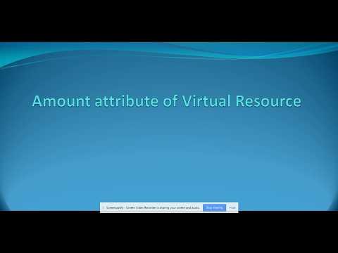 Autosys Tutorial Amount attribute of Virtual resource