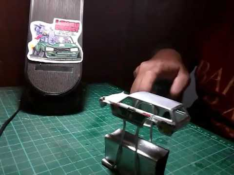 Tutorial Cara Pasang Water Slide Decals pada Hotwheels 1/64