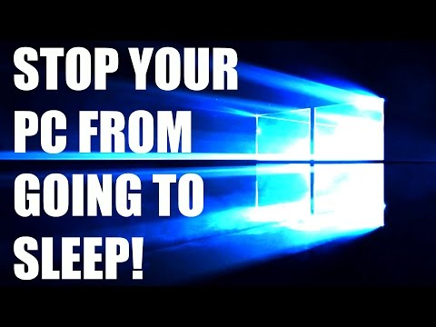 How to Stop your PC from going to Sleep on Windows 10/8/7/Vista