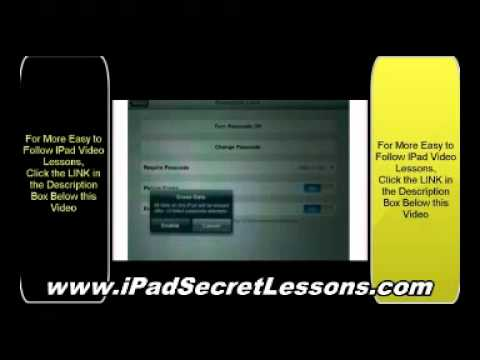iPad Lessons - Chapter dedicated to iOS 5 such as iMessage, Newsstand, Twitter Integration, Safari