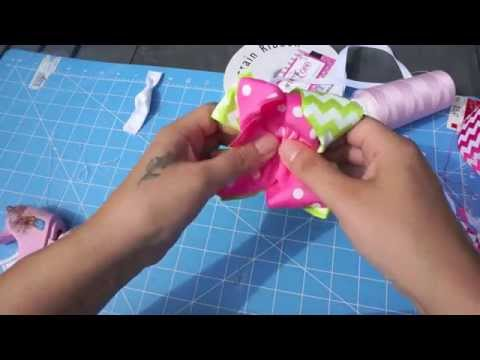 Step 3 - How to Make a Double Layer Boutique Bow with Artemis in Love (Lesson 3)