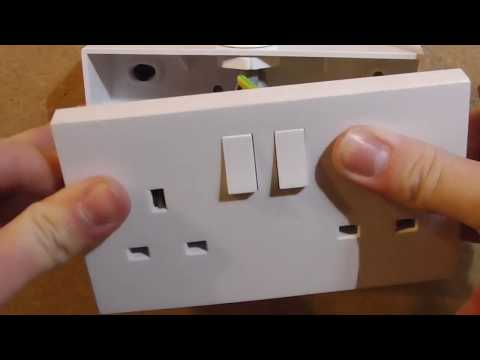 How To Wire A Double Socket