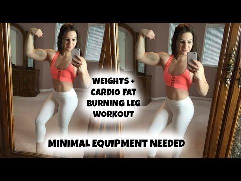 Minimal Equipment FAT BLASTING Leg Workout