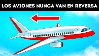 Por qué los aviones no pueden ir en reversa