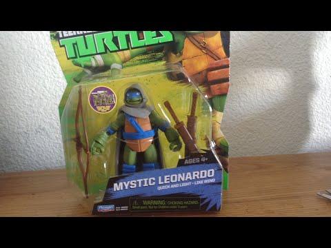 TMNT TOYS 2- Mystic Leonardo Figure