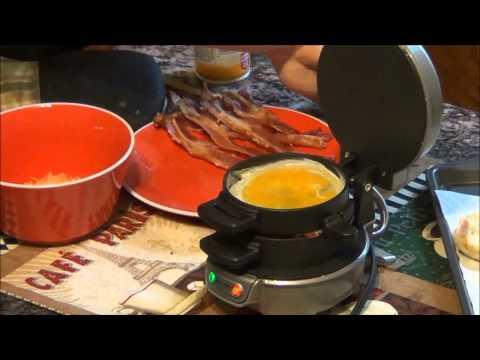 Breakfast Sandwich Maker Review   EpicReviewGuys