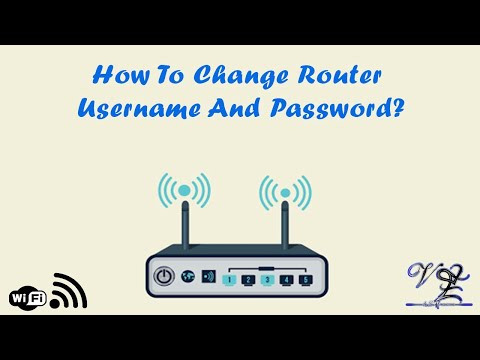 How to Change Router Username And Password?