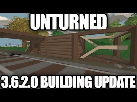 Unturned: 3.6.2.0 BUILDING UPDATE! (Stairs, Ramps, Holes, Ladders)