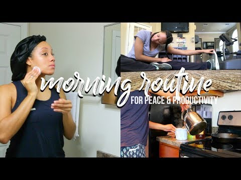 🌿 MORNING ROUTINE FOR PEACE & PRODUCTIVITY