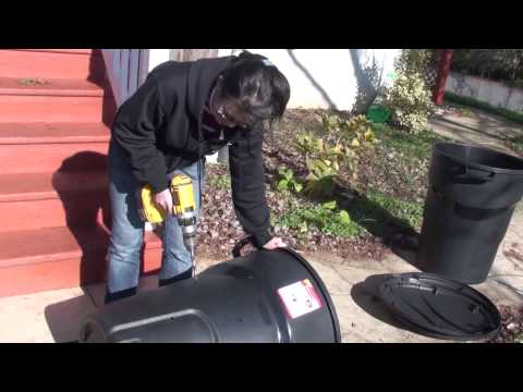 Make a compost bin - Part 1
