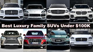 TOP 10 Best Ultra Luxury SUVs Under 100K! (2020 - 2021) Family SUVs to Buy. GV8, X5, Q7, GLE. Review