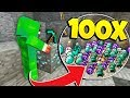 Download HOW TO GET 100x LOOT IN MINECRAFT! MP3,3GP,MP4