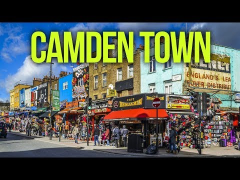 Places To Live In The UK - Camden Town   LONDON  NW1   England