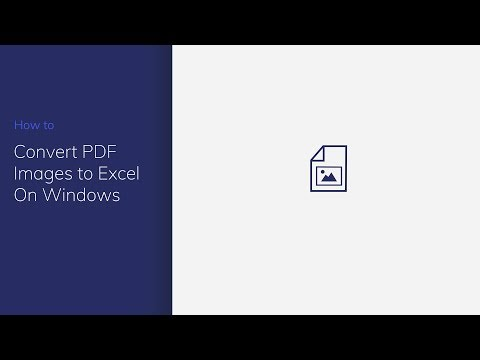 Convert PDF Image to Excel on Windows with PDFelement