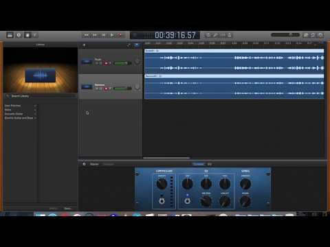 How to set up Multiple USB Microphones in Garageband