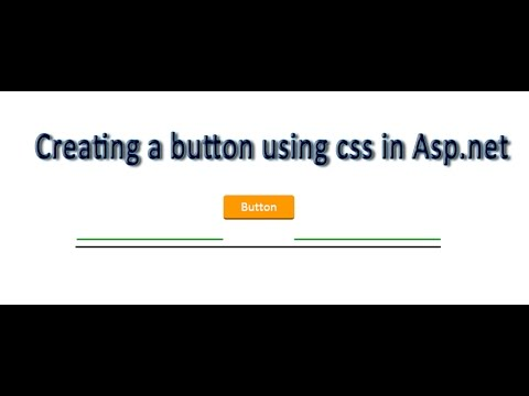 Css button with hover effect in Asp.net