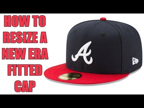 HOW TO RESIZE A NEW ERA FITTED CAP