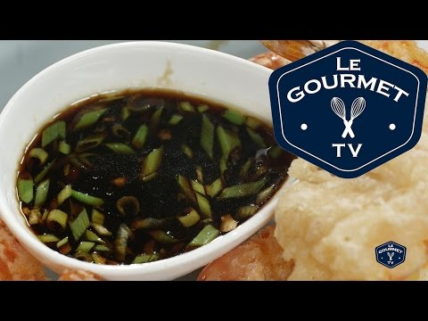 How-To Make Soy Ginger Dipping Sauce - Le Gourmet TV Recipe