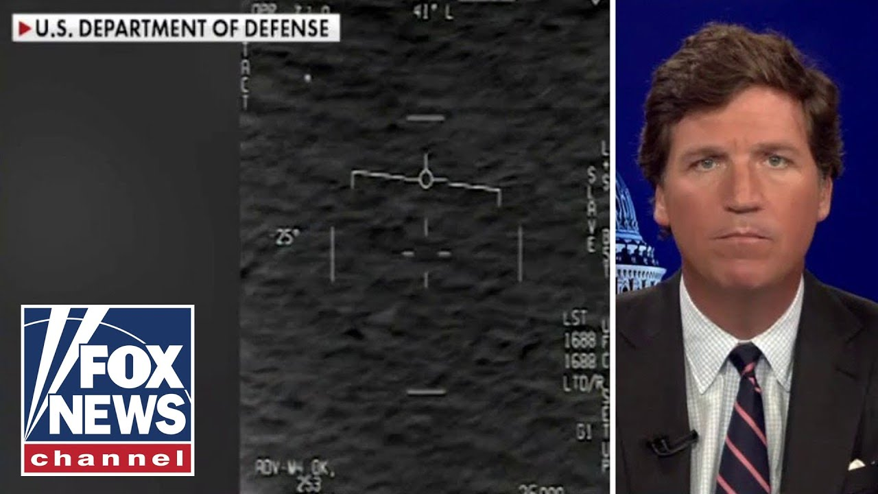 Pentagon whistleblower warns of UFO intelligence failure; Tucker reacts