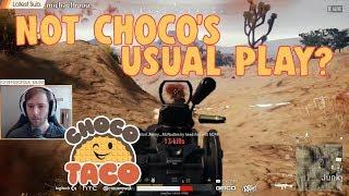 PUBG TOP 1   Chocotaco Cầm Groza gặp Núp Hầm dành Chicken Dinner