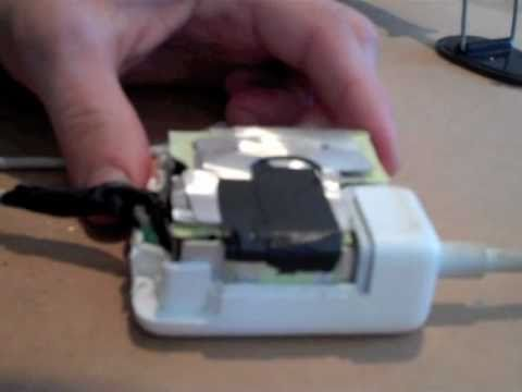 How To Fix a MacBook Power Adapter/Supply - DIY, EASY