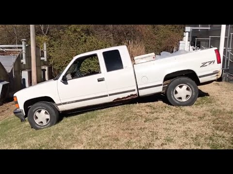 Fixing a 1998 Silverado that Won't Start