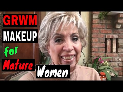 Makeup For Mature Woman - GRWM -  Trying Zoe Ayla Brushes