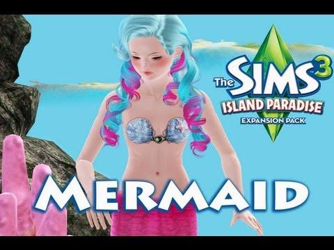 Sims 3 island paradise mermaid all skill