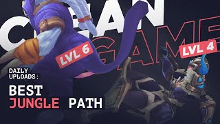 LEVEL 6 At 5:20 As JUNGLE?! Learn How To 1v9 With This OP Jungle Path   Dekar